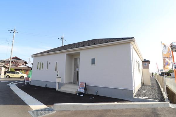 平屋建てワンフロアー・敷地54坪・八幡市下奈良・新築一戸建